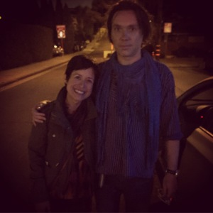 Meeting Rufus Wainwright. It was a long time coming :)
